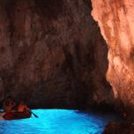 Exploring the Green and Blue Caves