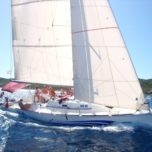 Sailing the Hvar archipelago