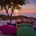 Bohemian Romantic Sunset Dinner