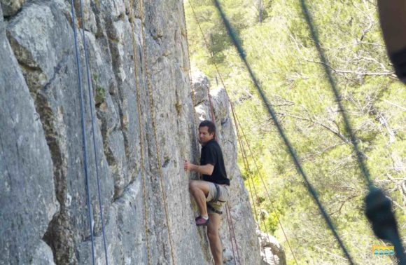 Discovery rock climbing – suitable for beginners