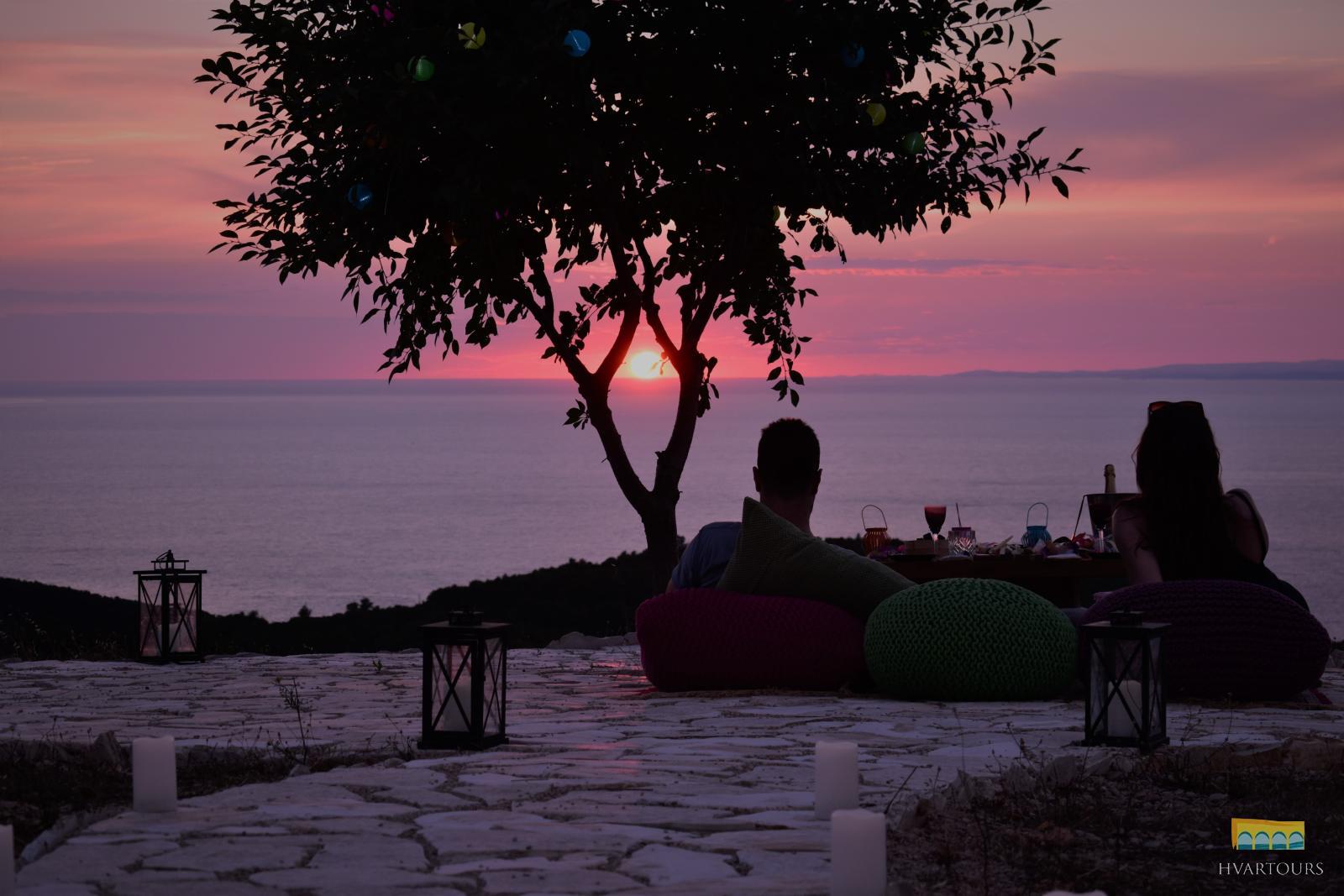 Bohemian Romantic Sunset Dinner