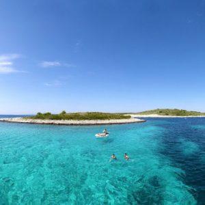 Paklinski islands cruising with optional fish picnic