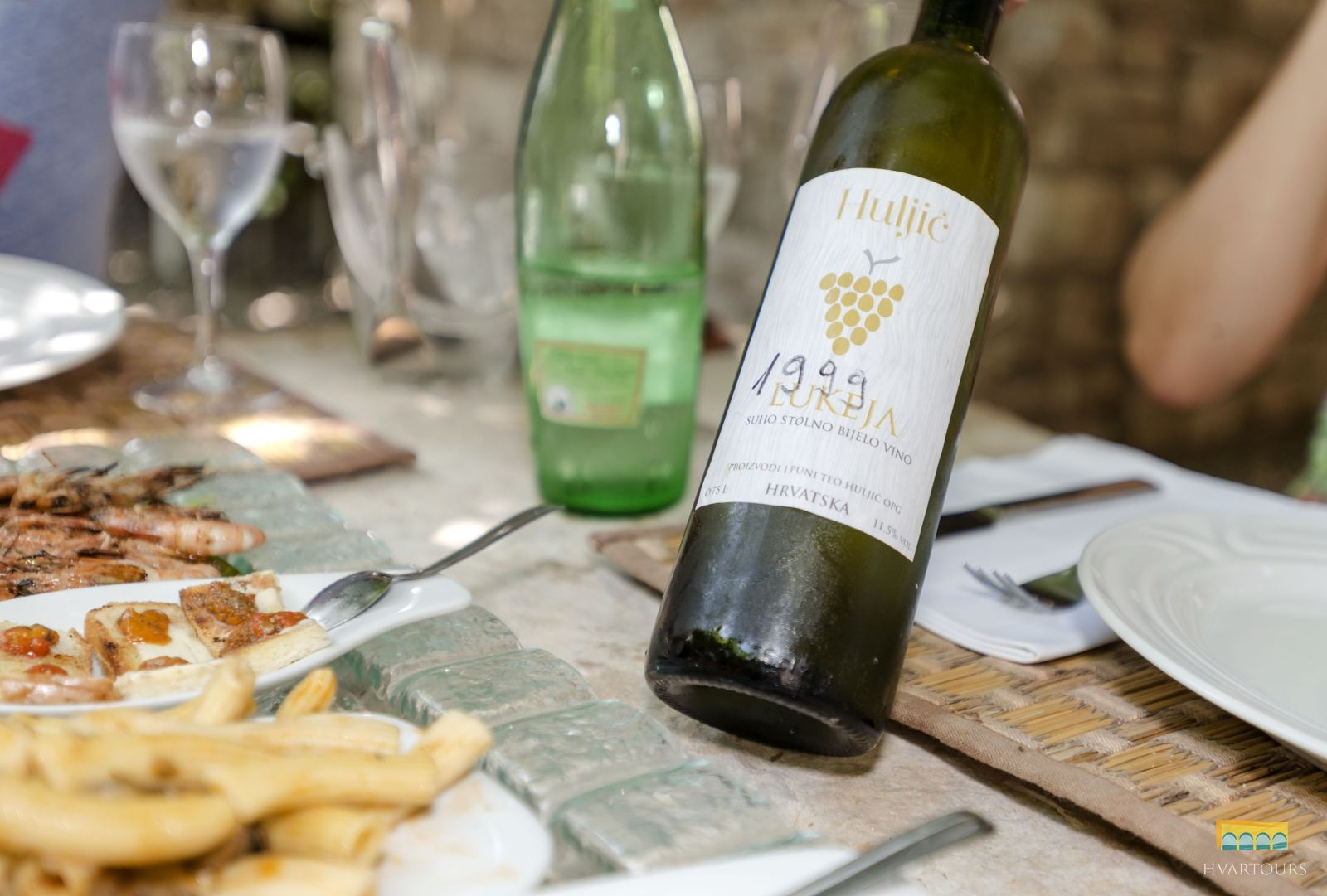 Wine & Food paired lunch or dinner